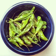 Oven-Roasted Shishito Peppers - Savouring St. Louis