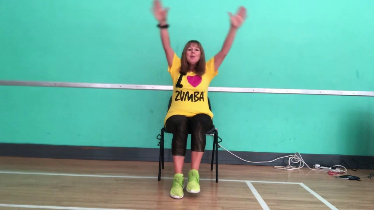 Sweet But Psycho Zin 83 Zumba Gold In The Chair Zumba Gold Chair Cool Chairs