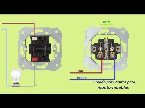 Como Poner Un Enchufe Desde Un Interruptor Youtube Instalacion Electrica Instalacion Electrica Enchufe