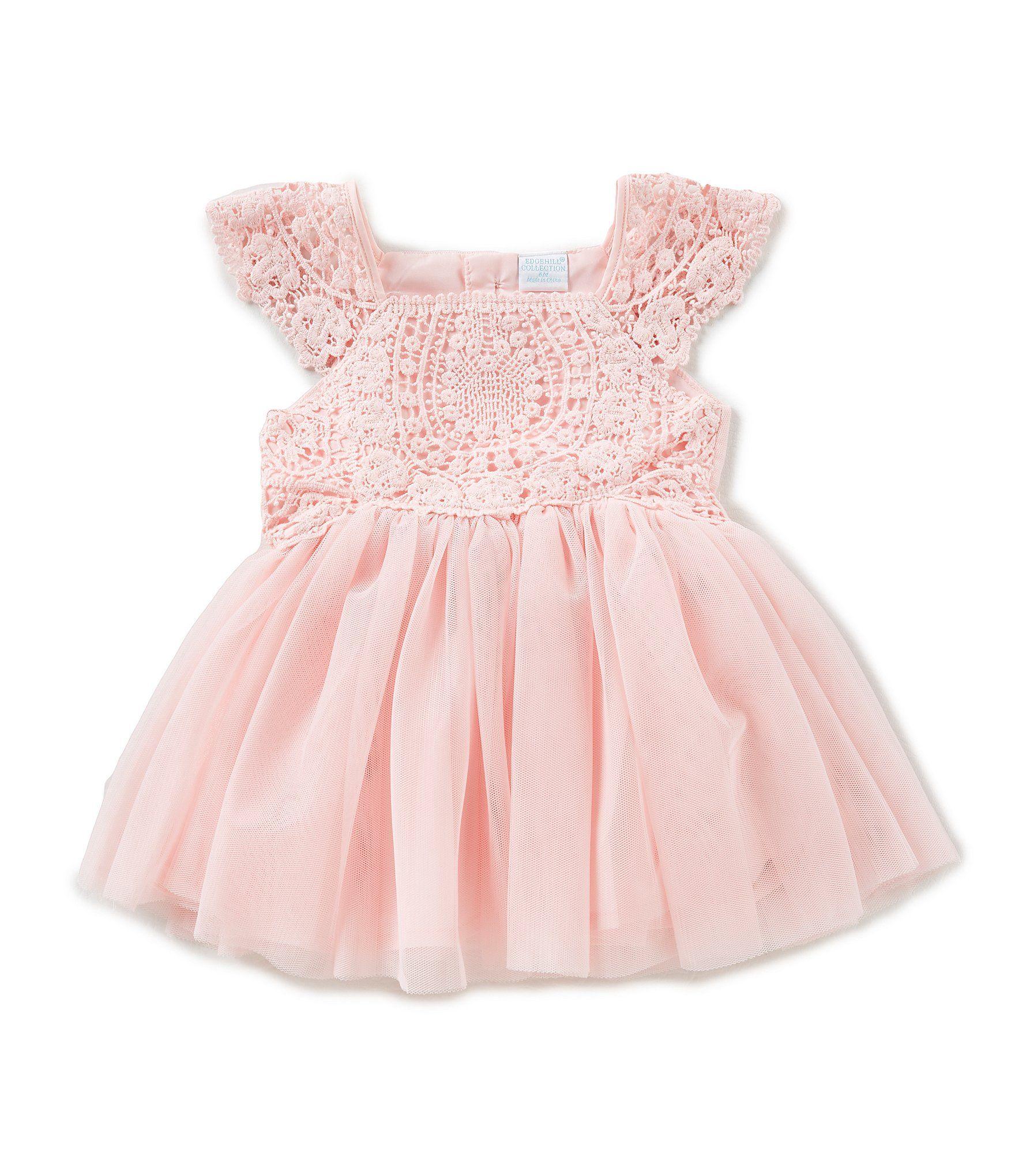 Pink Flower Girl Dress Boho Bohemian Wedding Shop For Edgehill