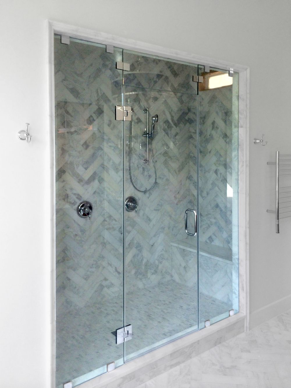 Image Result For Frameless Shower Door With Transom Glass Shower Enclosures Sliding Shower Door