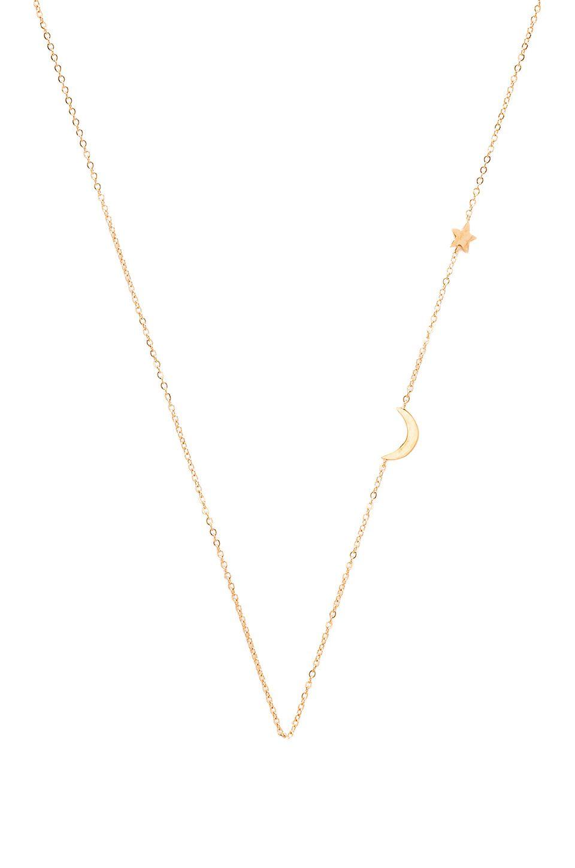 Gjenmi Jewelry Lariat Necklace in Metallic Gold J8fB3Q3t0
