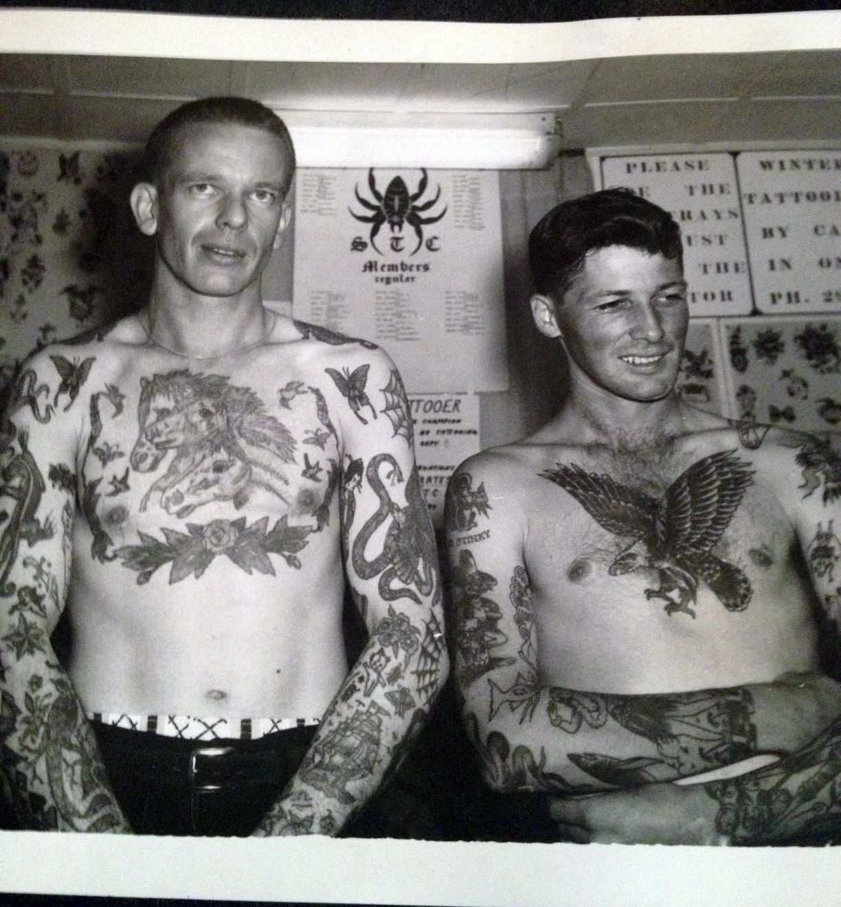 Photo Courtesy Of Amsterdam Tattoo Museum Body Art Hair