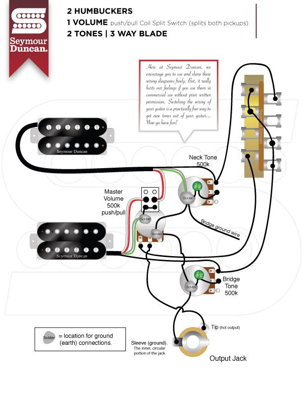 Wiring Diagrams Seymour Duncan Seymour Duncan Guitar Tech Guitar Design Guitar Pickups