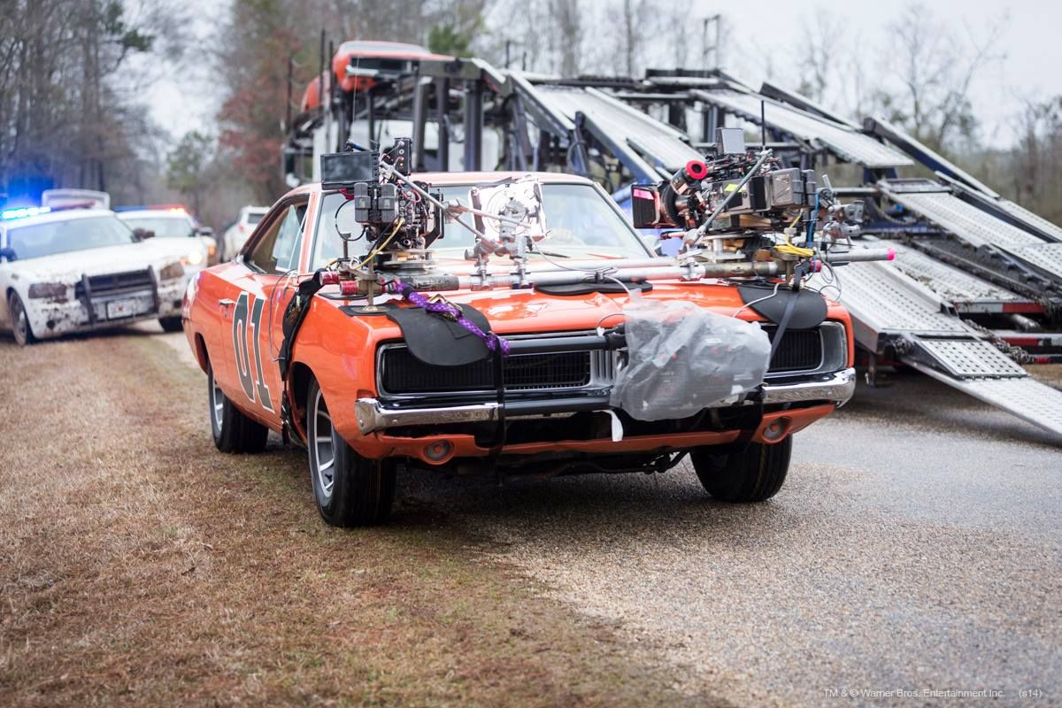 The General Lee suited up for action in the new Dukes of Hazzard ...