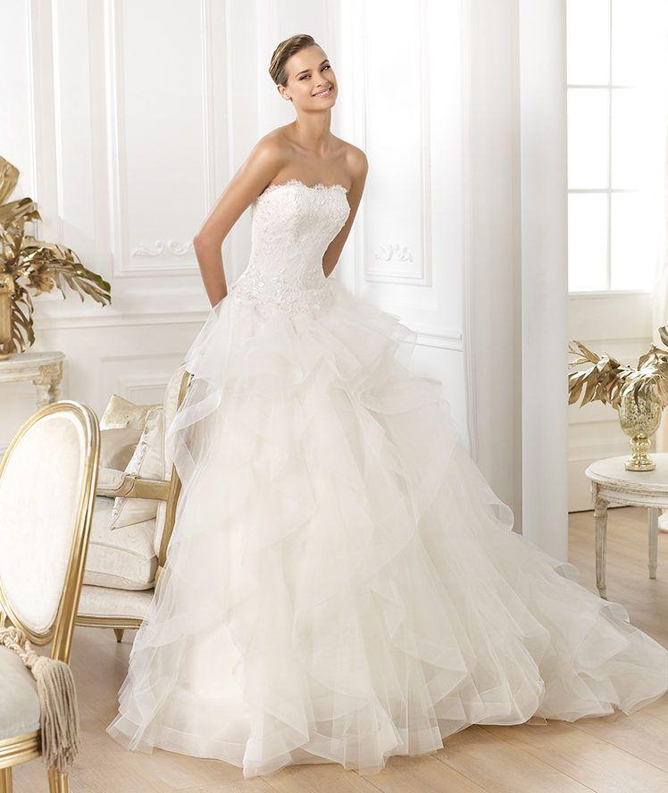 Glamorous Pronovias Wedding Dresses 2014 Dreams Collection