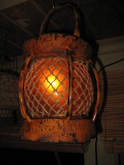 Quot Tikiskip Quot Tiki Bar Lights Fish Float Lamps Kahiki Rehab