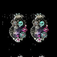 Kukkapöllö-korvikset