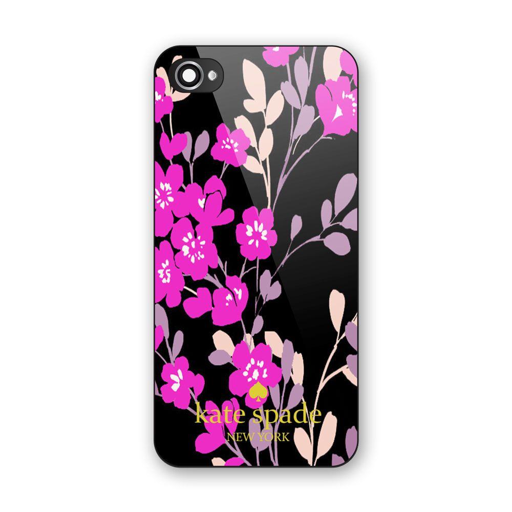 Best new custom kate spade beauty purple floral print on