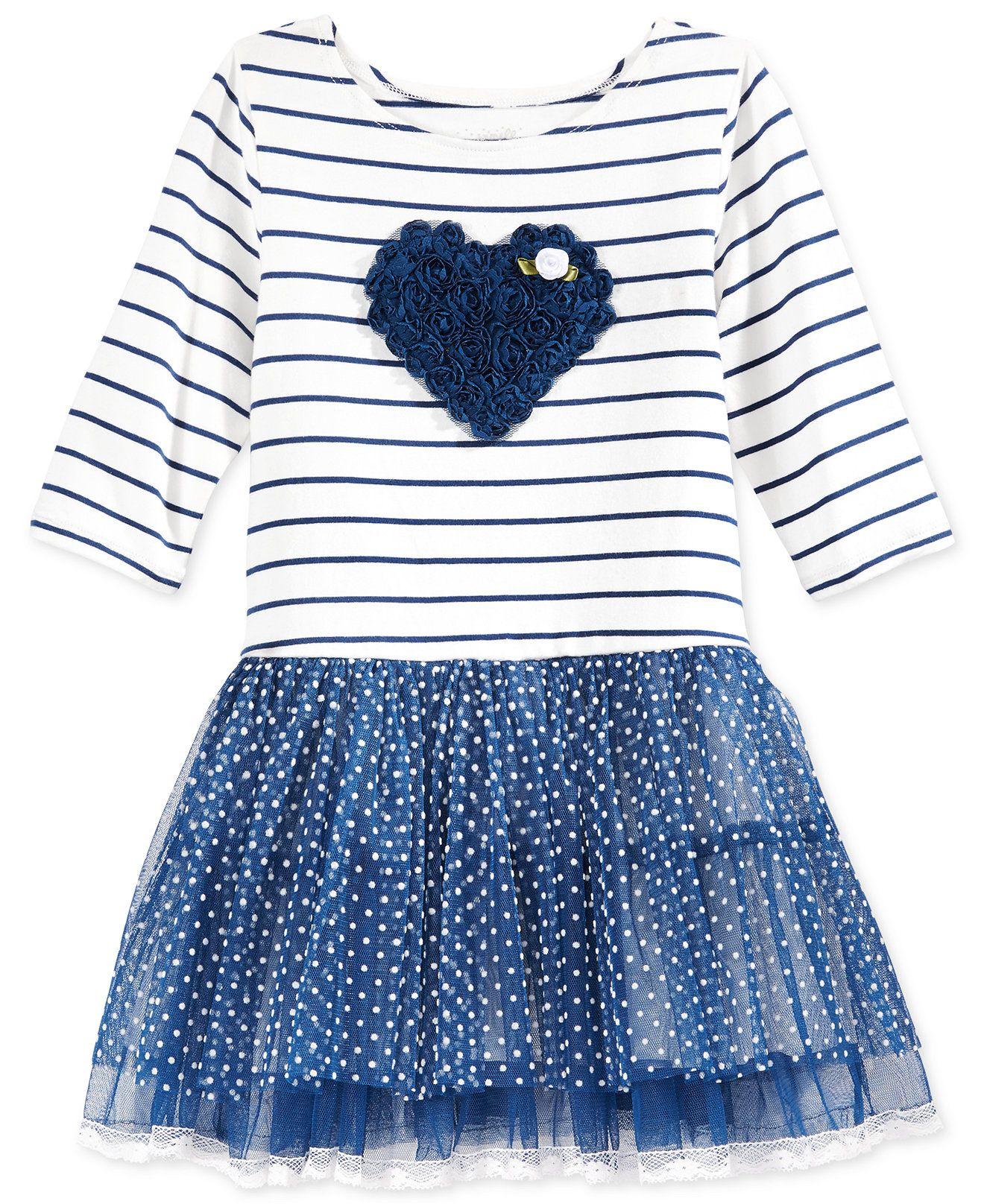 Marmellata Little Girls Mixed Print Tutu Dress Kids & Baby
