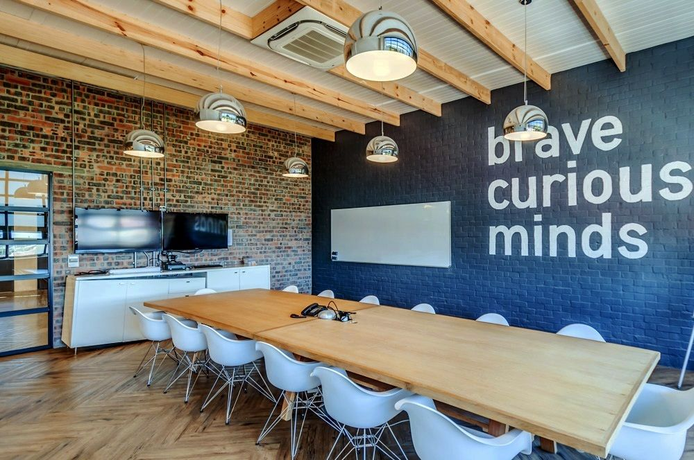 Inside Quirk S Cool Cape Town Office Modern Office Design Cool Office Space Office Space Decor