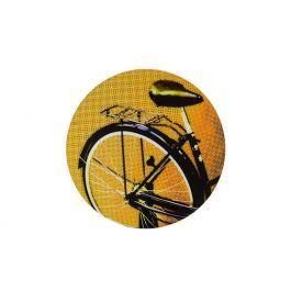 O Painel Decorativo Bicicleta 40cm Amarela é ideal para decorar paredes, deixá-las mais divertidas e com personalidade.