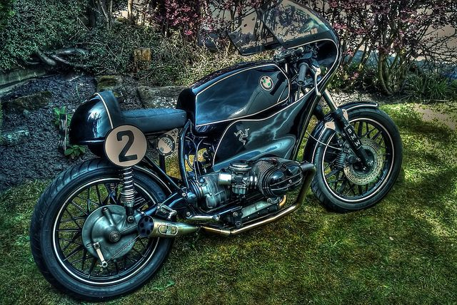 My Hdr Bmw Race Bike With Images Bmw Cafe Racer Racing Bikes