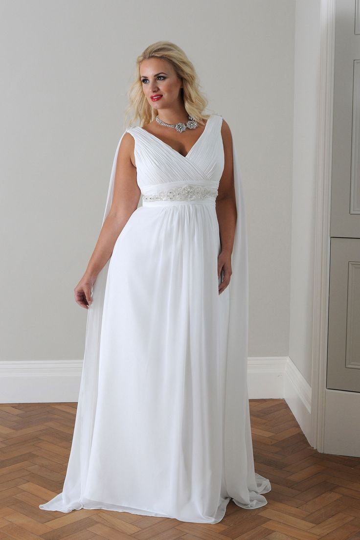 Tips To Look Good In Plus Size Wedding Dresses Goddess Wedding Dress Wedding Dresses Plus Size Greek Goddess Wedding Dress [ 1104 x 736 Pixel ]