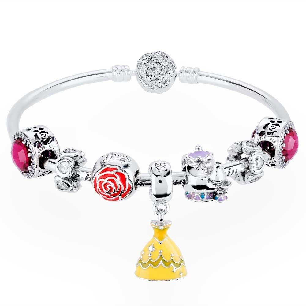 b765fc885 PANDORA Disney Beauty And The Beast Complete Bangle CB751 | The Jewel Hut