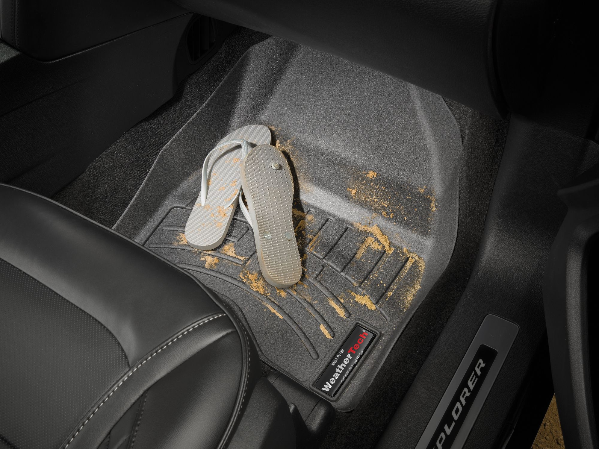 Toes In The Sand Sand On Your Car Floors After A Day At The Beach Cleanup Is A Breeze With Weathertech Fit Car Trunk Liner Car Mats