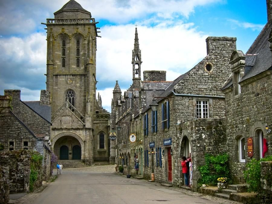 Another pride of Brittany, Locronan is hailed as one of the Plus Beaux Villages in France (most beautiful villages of France). Finistère