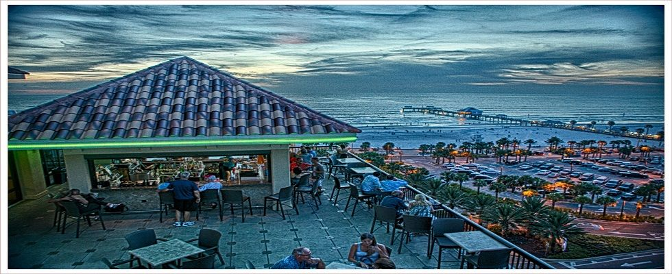 Jimmy S Crow Nest Roof Rooftop Bar Clearwater Beach