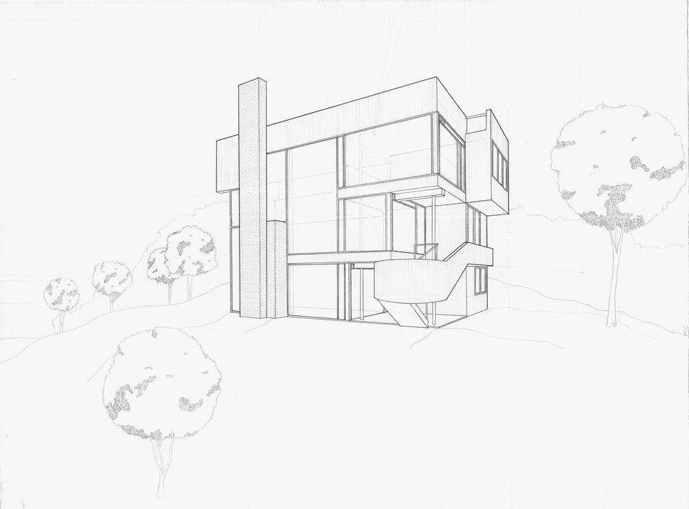 Image result for richard meier smith house plan archi – Richard Meier Smith House Floor Plans