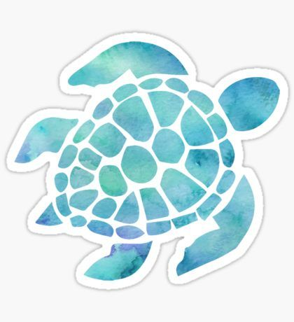 Tumblr Stickers T Shirt Designs Turtle Silhouette