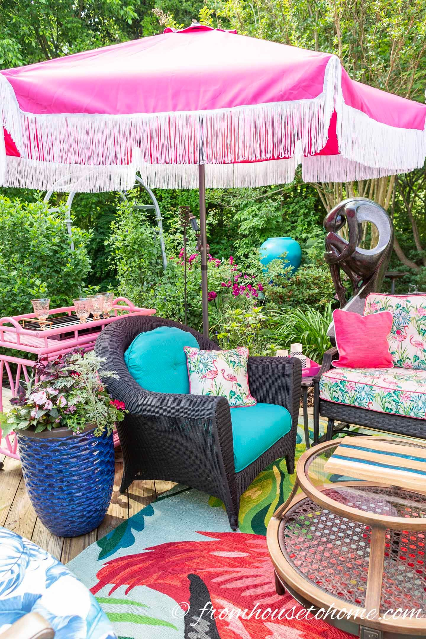 Backyard Shade Ideas 10 Shade Solutions For A Cooler Deck Or Patio Gardening From House To Home Backyard Shade Diy Patio Cover Deck Shade Backyard shade house designs