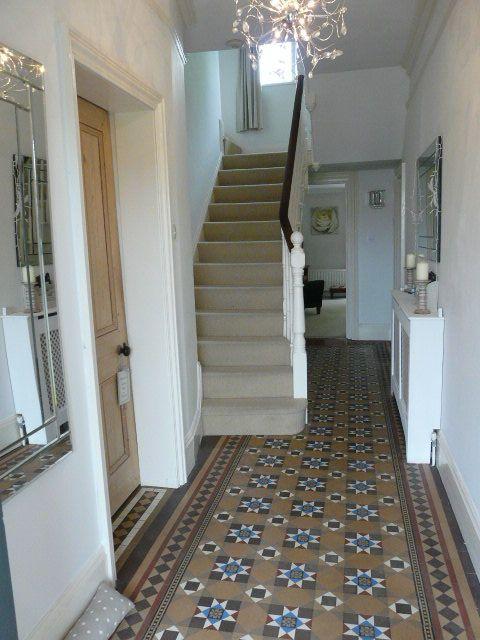 My Hallway Minton Tiled Flooring Victorian Housey
