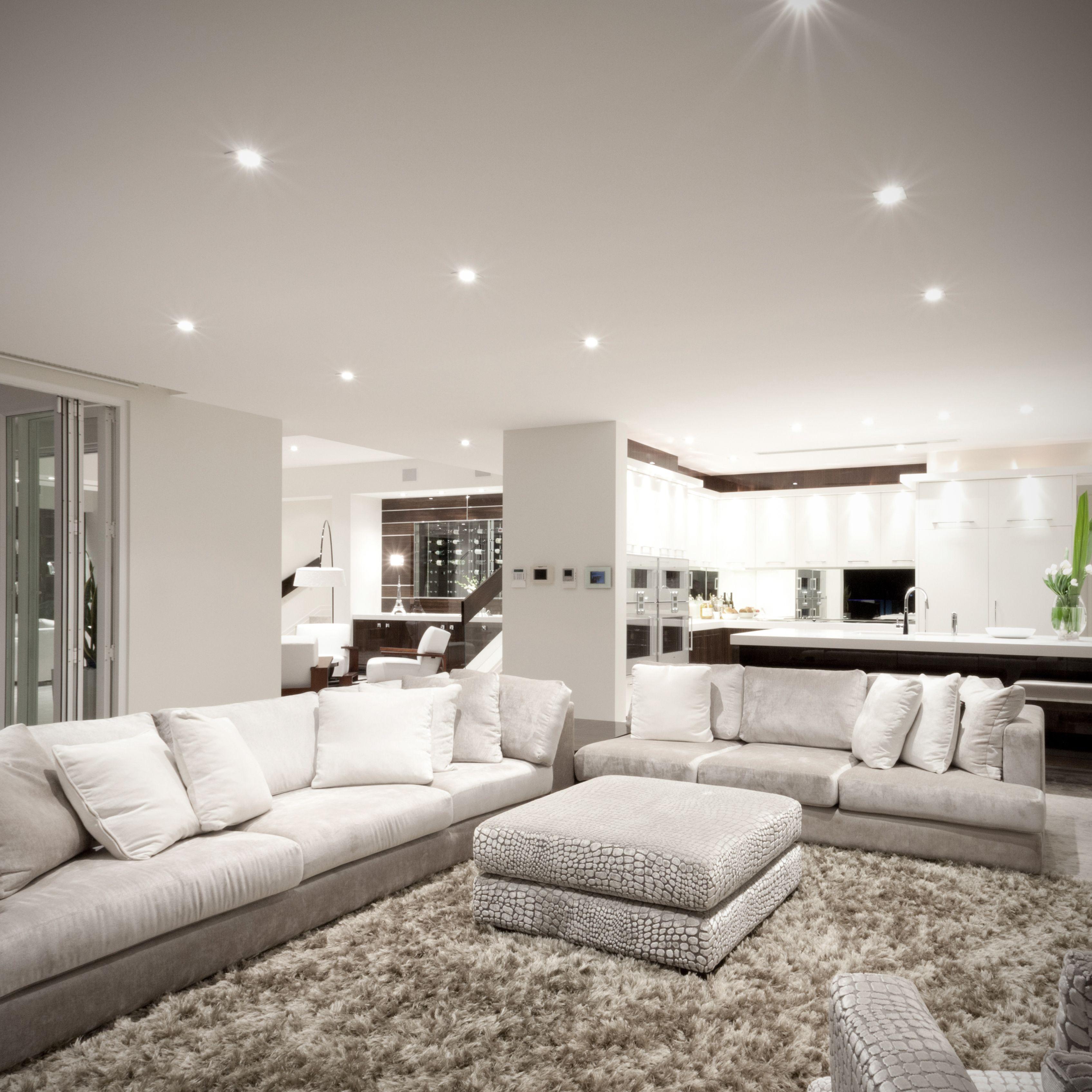 LED Einbauleuchten  Ästhetisches schlafzimmer, Wohnung gestalten