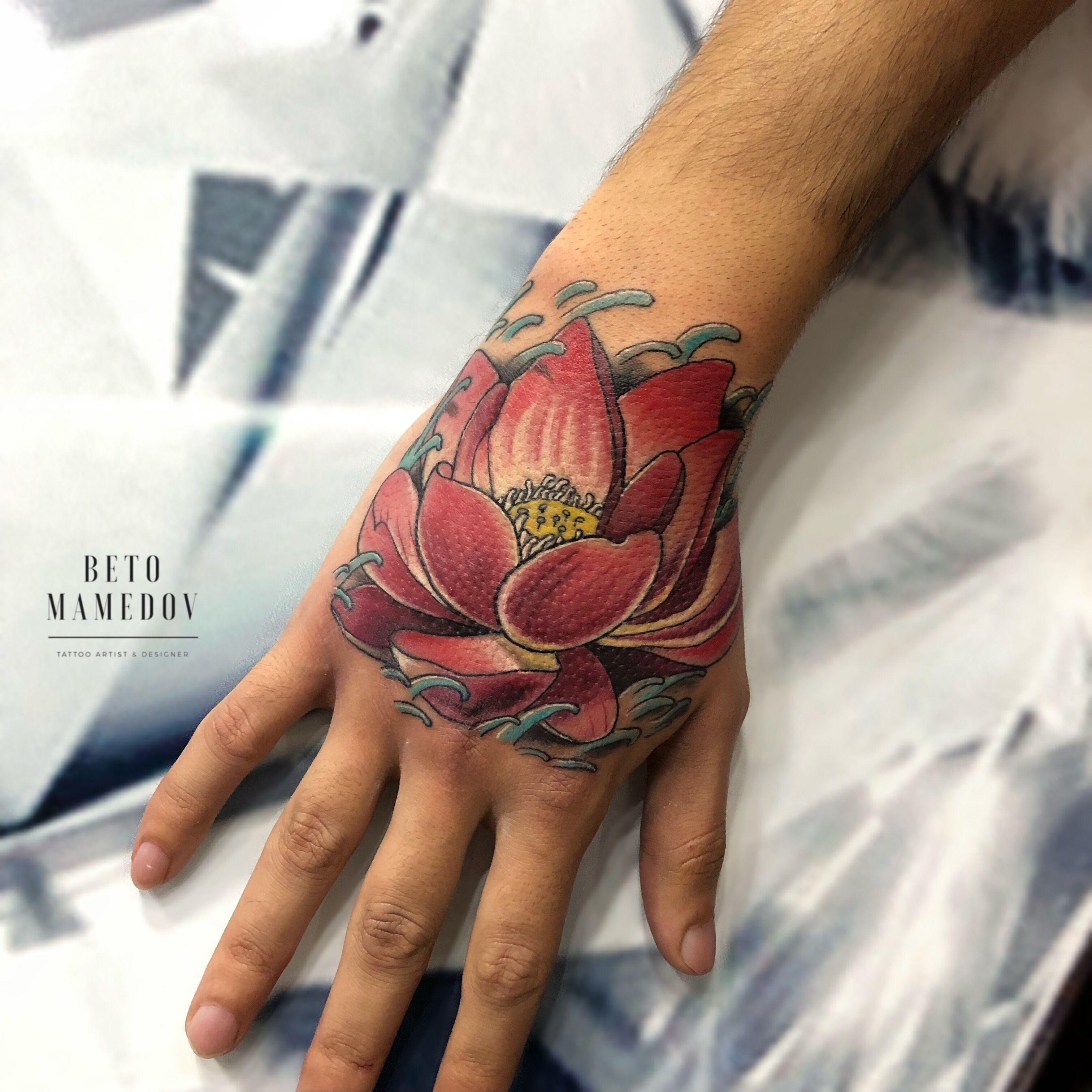 Lotus Tattoo Beto Mamedov Cuff Tattoo Lotus Tattoo Tattoos