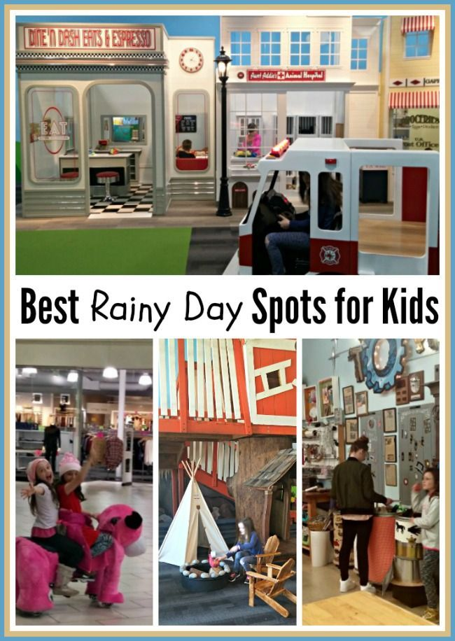 Where to Go with Kids on a Rainy Day? Indoor Activities To