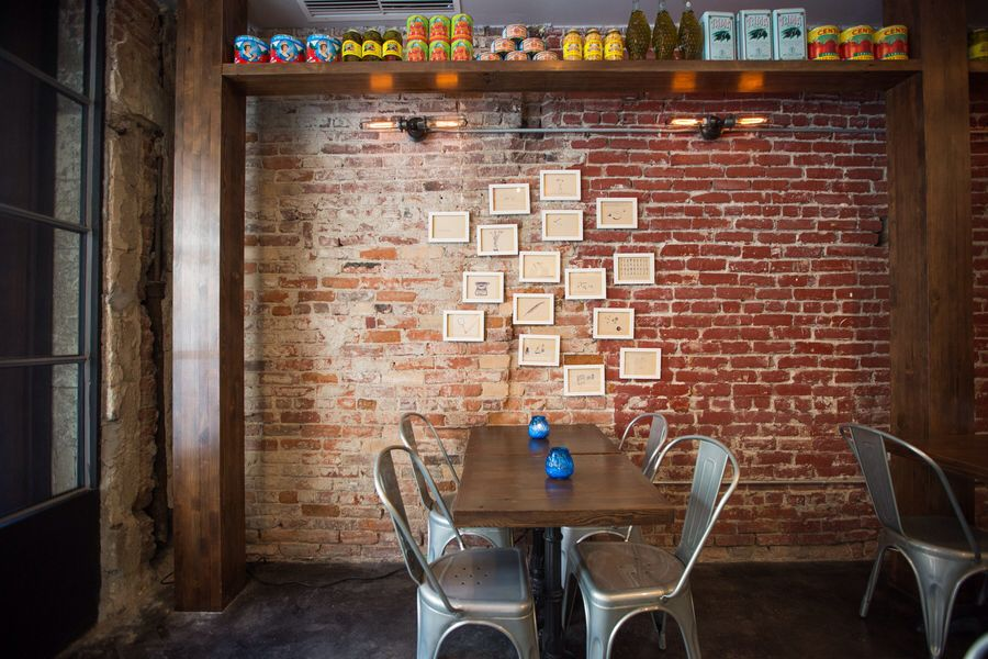 Prufrock Pizzeria | Home decor, Decor, Conference room table