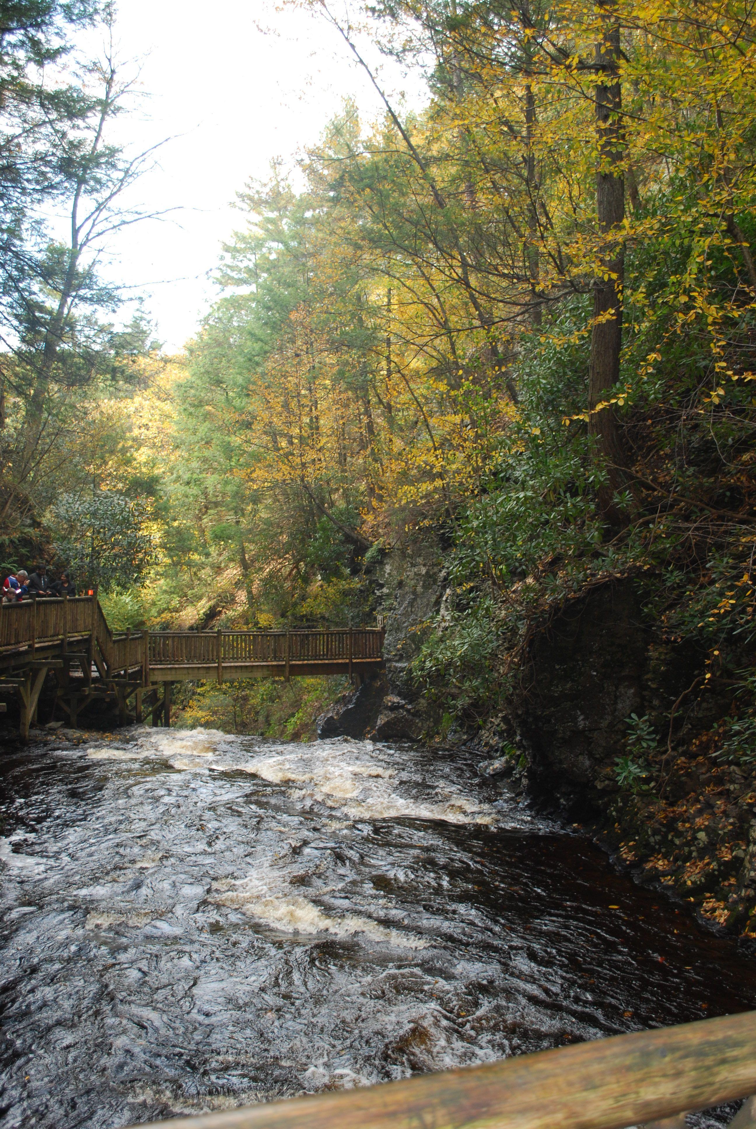 Bushkill falls pennsylvania bushkill falls nature