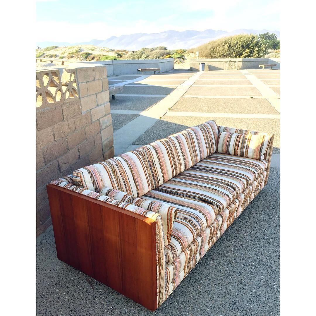Sofa Sale Beautiful mid century sofa from Van Dyver Witt Furniture Mfg out of Los Angeles