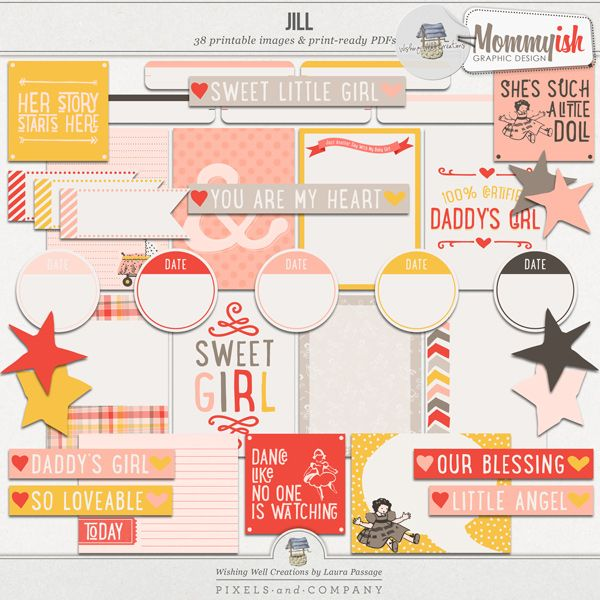 """Creations By Laura: Printables ...a Collaboration By """"Wishing Well"""