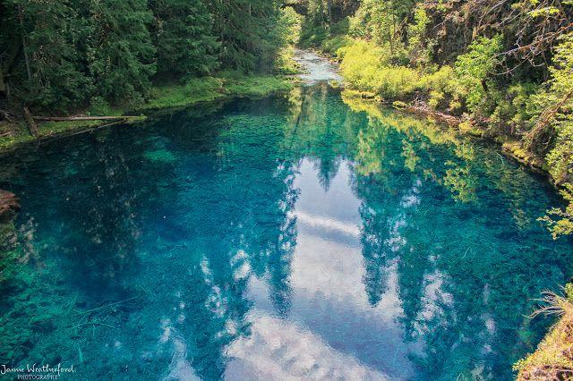tamolitch pool tamolitch falls blue pool Bend Oregon Central Oregon hike Mckenzie river trail hike waterfalls view sisters oregon hiking San...