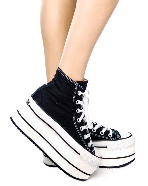 low priced 03b54 52eef Platform Converse Sneakers   Dolls Kill