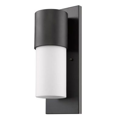 wright cylinder outdoor wall light yossi office pinterest