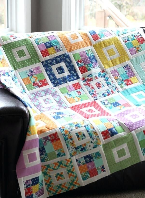 Crazy Patchwork Quilt Pinterest Shortcake Quilt Pattern
