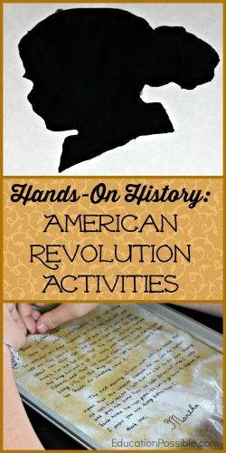 Hands On American Revolution Activities For Middle School