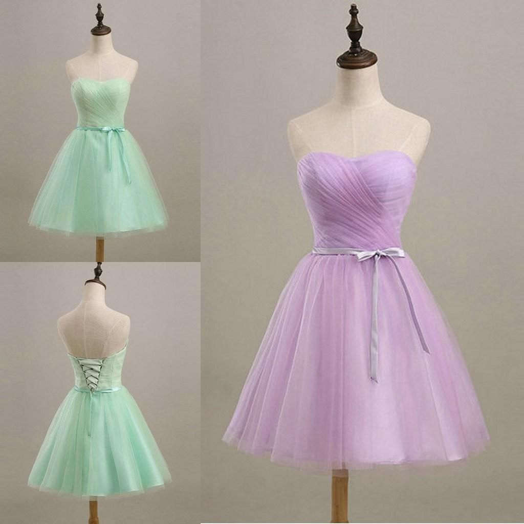 Young girls wedding dresses  Discount Vintage Short Junior Bridesmaid Dresses For Young Girls