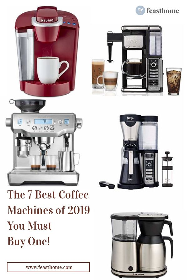 The 7 Best Coffee Machines: You Must Buy One! | Coffee ...