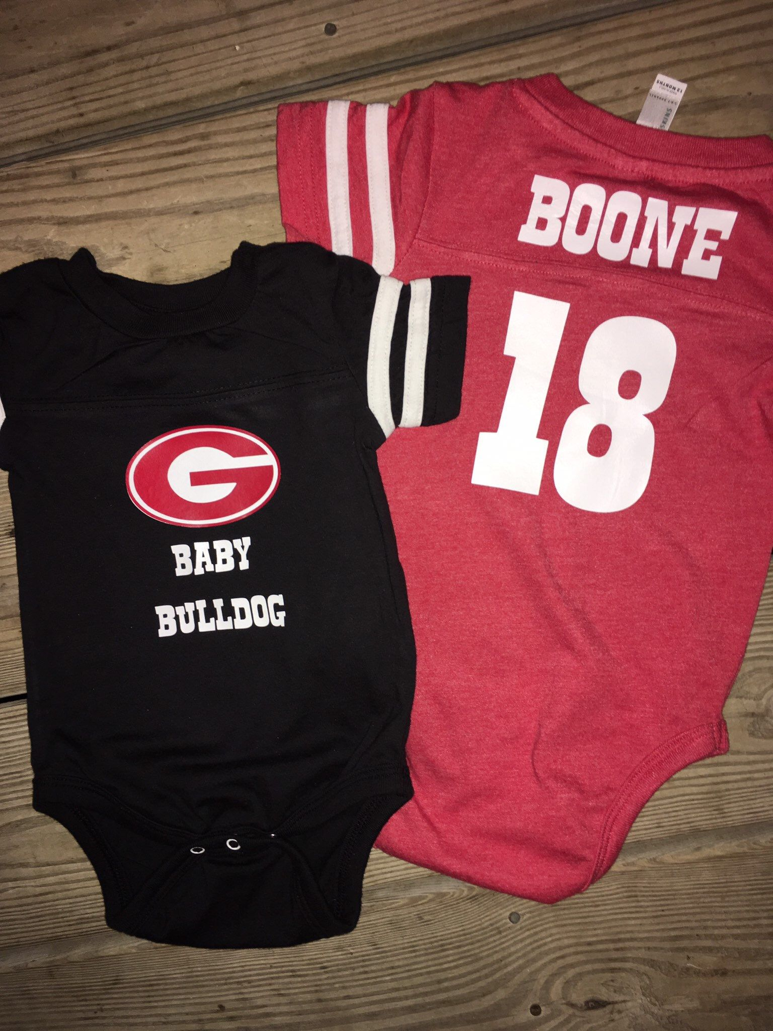 c6930d1c Excited to share this item from my #etsy shop: Georgia Bulldogs baby jersey  onesie