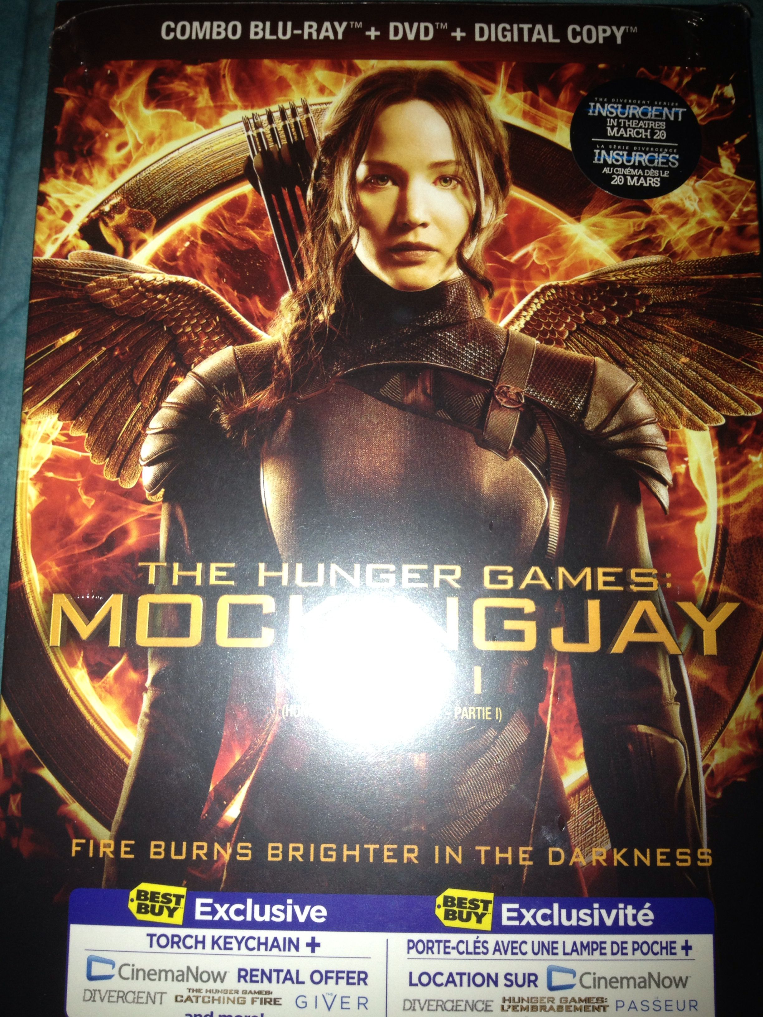 Picked Up My Movie The Hunger Games Mockingjay Part 1 Hunger Games Mockingjay Hunger Games Mockingjay
