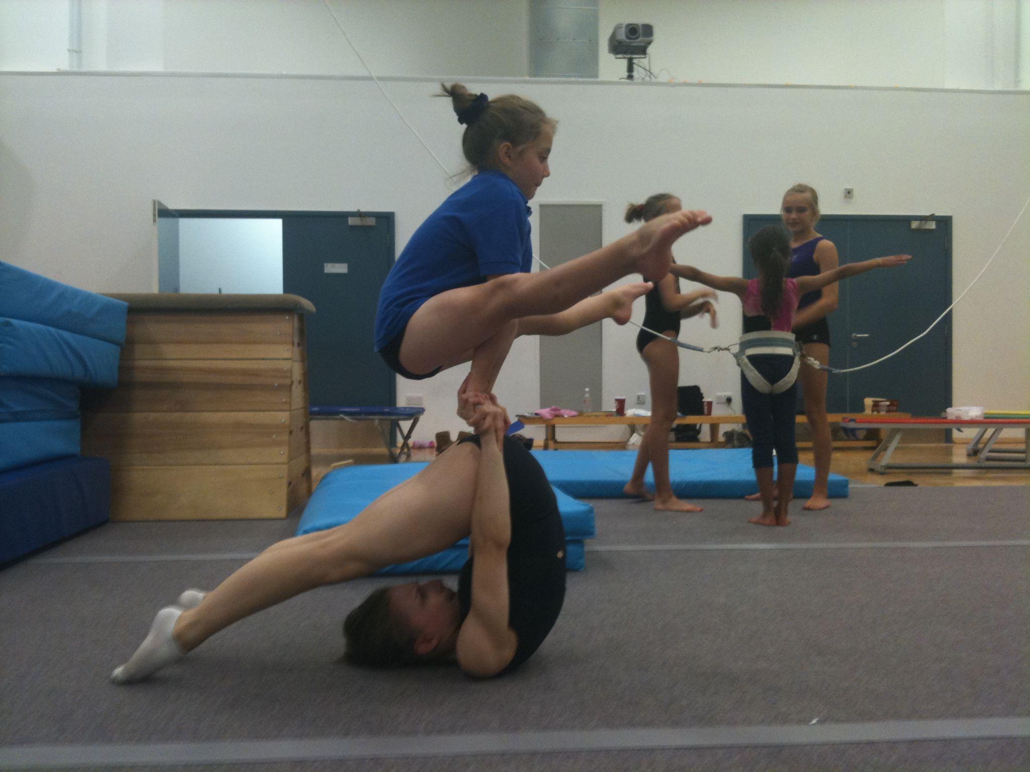 acrobatic gymnastics womens pair 11-16   Acrobatic ...