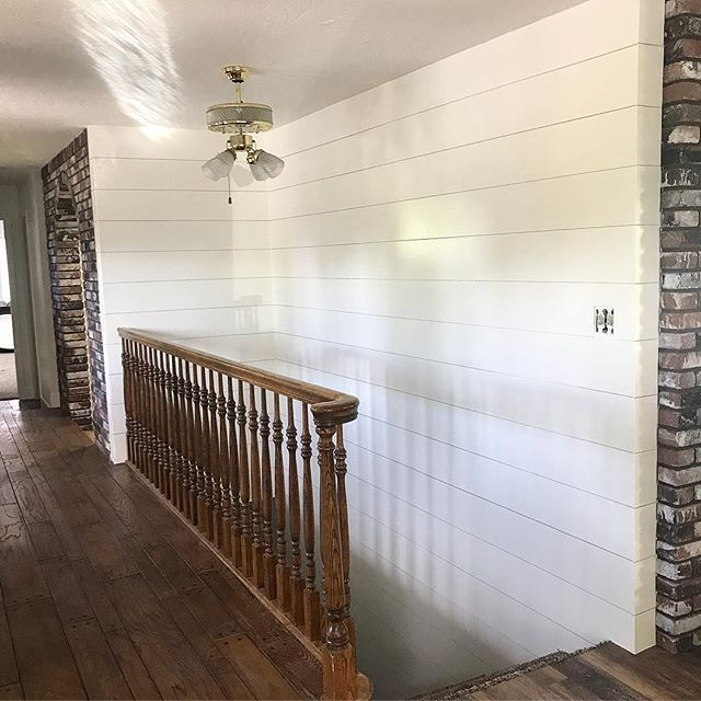 The Cheapest And Easiest Way To DIY Shiplap