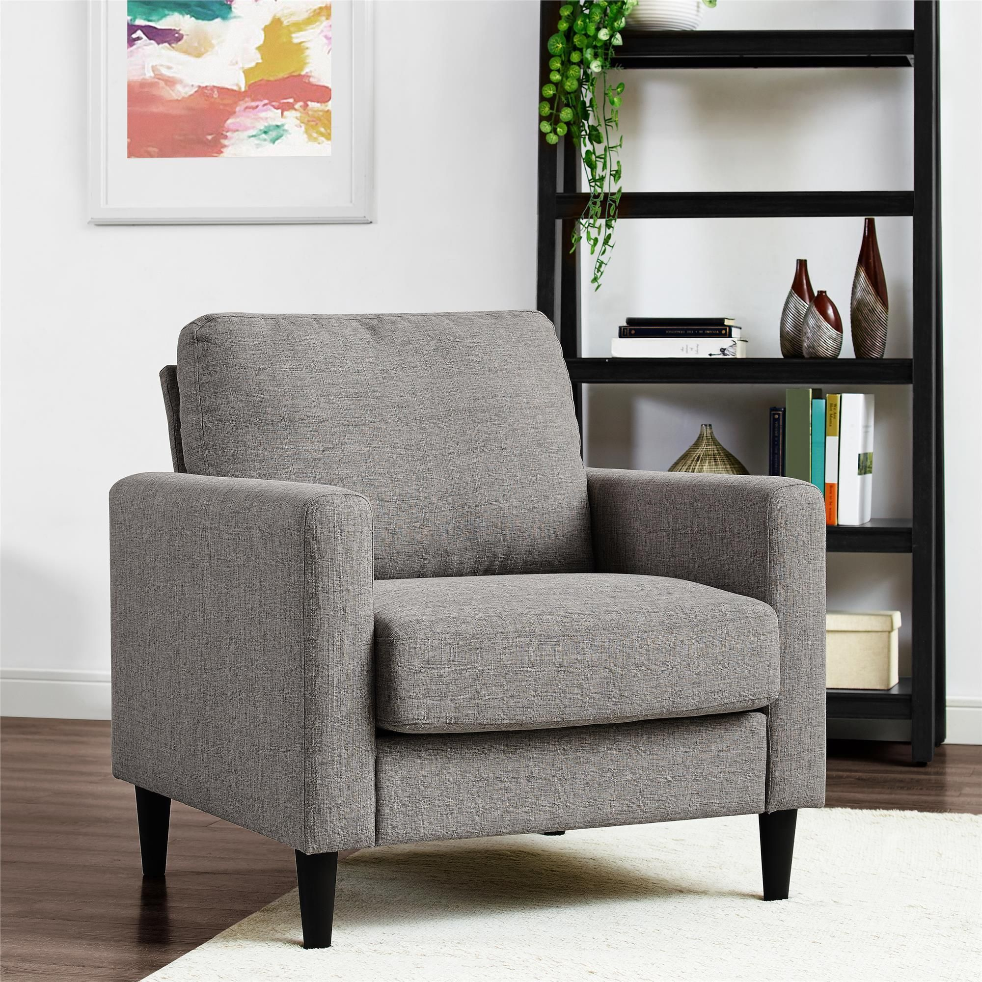 Classic Lines And Contemporary Design Make The Dorel Living Kaci Chair A  Timeless Piece For Living Rooms And Seating Areas. This Small Spaces Chair  Is The ...