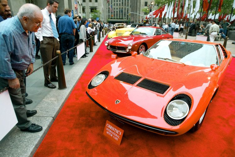 A Product Of The Late 1960s And Early 1970s, The Miura Was One