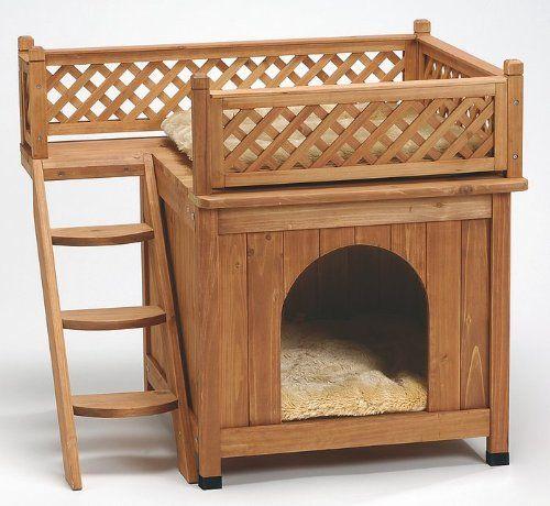 van riel maisonnette en bois odi pour chats et petits. Black Bedroom Furniture Sets. Home Design Ideas