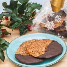 Dark Chocolate Florentine Praline Cookies #yumm #yumm