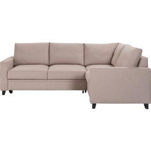 Buy Argos Home Seattle Right Corner Fabric Sofa Bed Natural Sofa Beds Sofa Bed Natural Sofas Charcoal Sofa