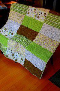 Big Rectangle Blocks Quilt...EASIEST QUILT EVER FOR A beginner ... : easiest quilt pattern - Adamdwight.com